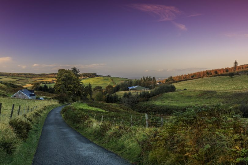 Ireland scenic picture
