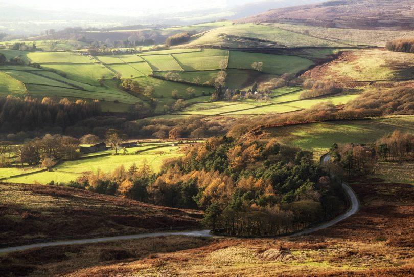 Ireland scenic shot