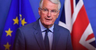 Brexit Barnier arrives in UK for face to face talks