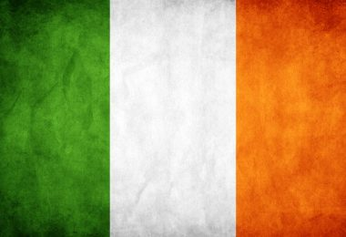 irish tricolour flag 0