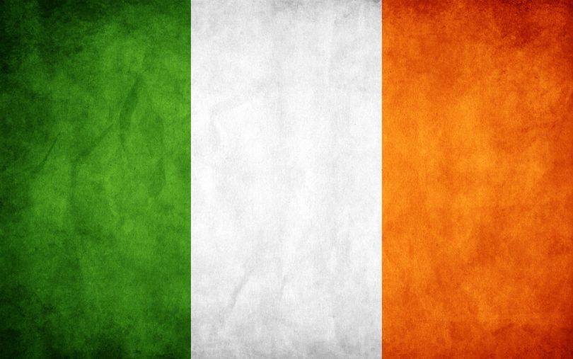 irish tricolour flag 0