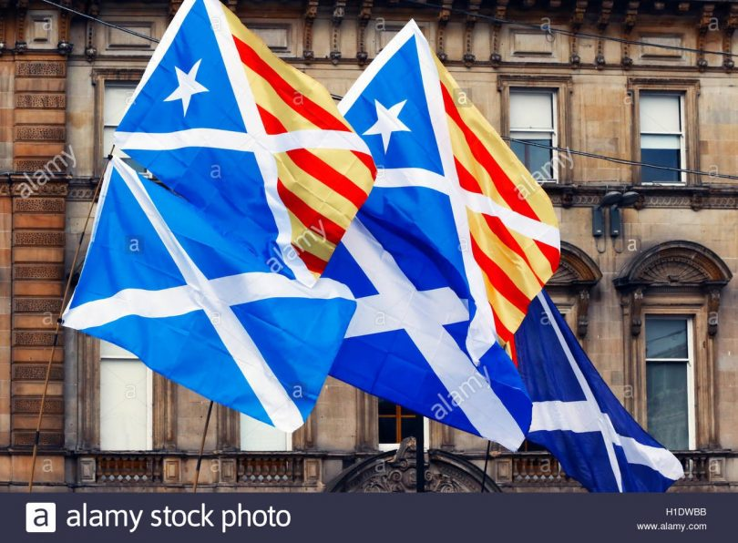 scottish flag from yes