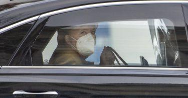 Merkel Mask Limousine